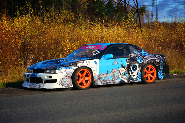 Silvia s13, non grata, drift, cararts, design, russian drift series, rds, Слава Калашников